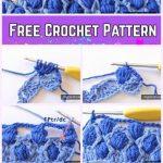 Crochet Colorful Cluster Stitch Free Pattern - Crochet and Knitting Patterns