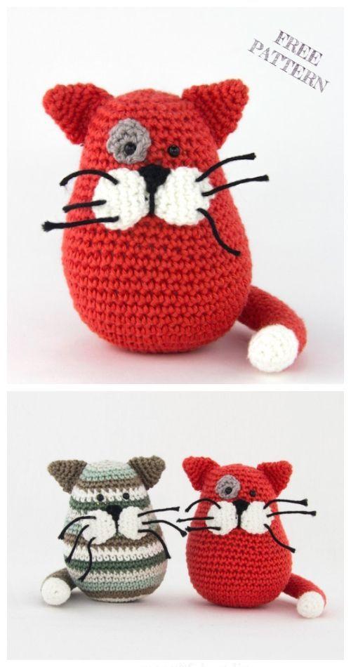 Crochet Dumpling Kitty Amigurumi Free Patterns