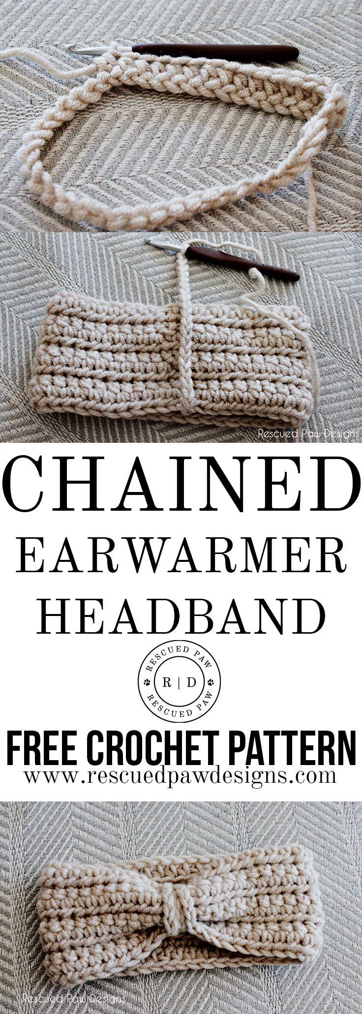 Crochet Ear Warmer Pattern – Free Ear Warmer Headband Pattern