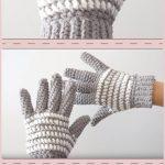 Crochet Gloves Free Pattern - Things To Crochet