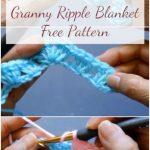 Crochet Granny Ripple Baby Blanket – Free Pattern + Easy Video Tutorial