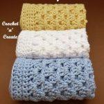 Crochet Granny Washcloth