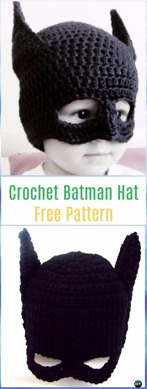 Crochet Halloween Hat Free Patterns & Instructions