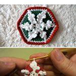 Crochet Hexagonal Snowflake