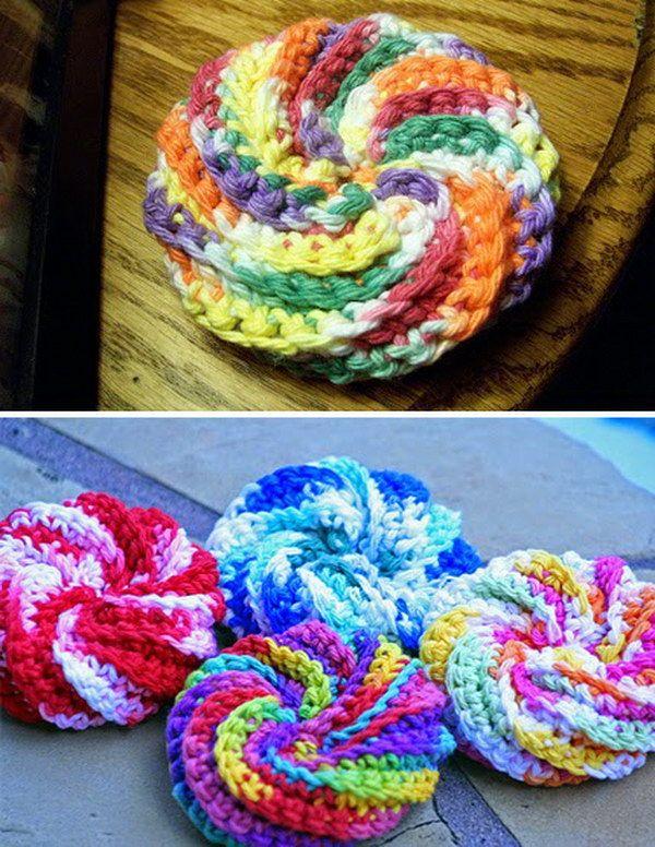 Crochet & Knitted Dishcloth Patterns