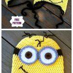 Crochet Minion Hat Free Crochet Patterns & Paid