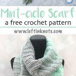 Crochet Mint-cicle Scarf - Free Pattern — Left in Knots