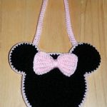 Crochet Mouse Ears Purse