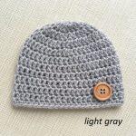 Crochet Newborn Boy Hats, Photography Prop Baby Beanie in Gray, Blue, Beige colors. Handmade new born hospital cap, Infant baby shower gift