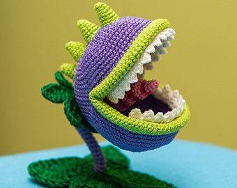 "Crochet Pattern of Sunflower from ""Plants vs Zombies"" (Amigurumi tutorial PDF file)"