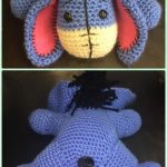 Crochet Patterns Crochet Amigurumi Eeyore The Donkey Free Pattern – #Crochet Amigurumi Winnie The