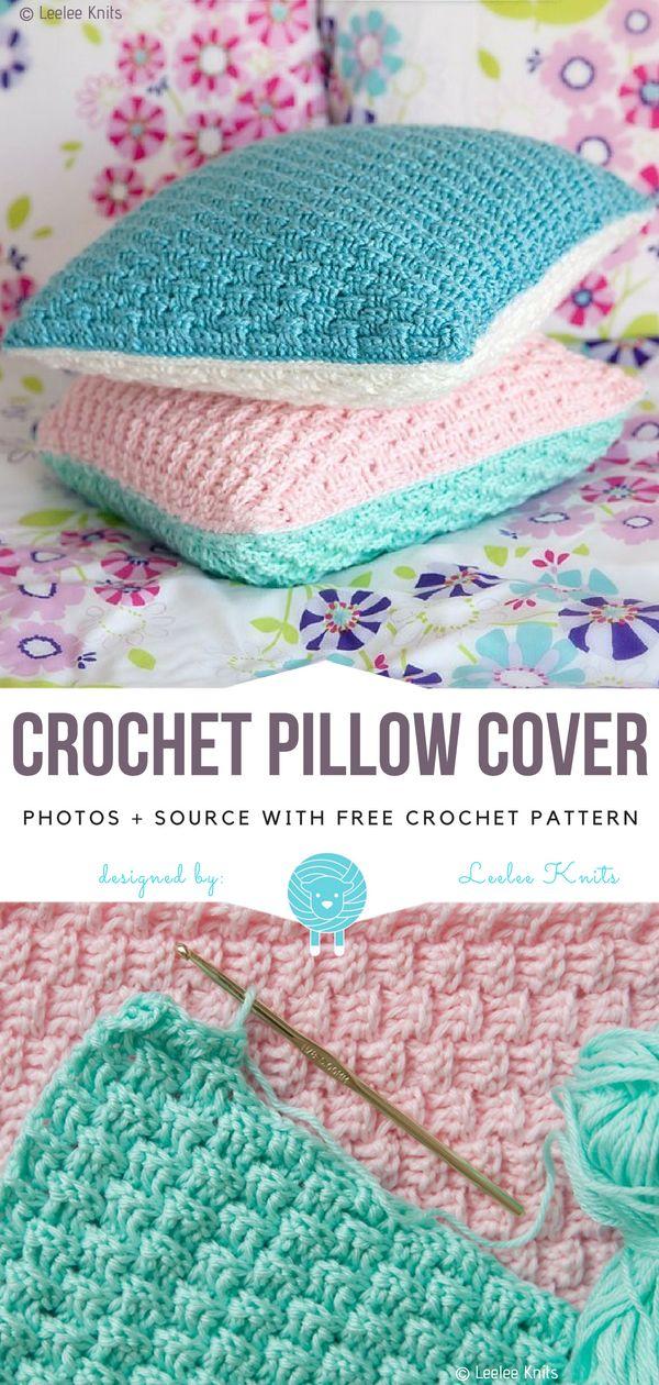 Crochet Pillow Cover Free Pattern – Free Crochet Patterns