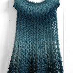 Crochet Poncho Dress - free crochet poncho pattern by Wilmade