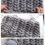 Crochet Puff Stitch Loop Scarf Tutorial - Video