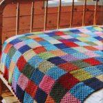 Crochet Quilt: Ideen mit Fotos und einfach Schritt für Schritt