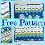 Crochet Ripple Baby Blanket - Free Pattern