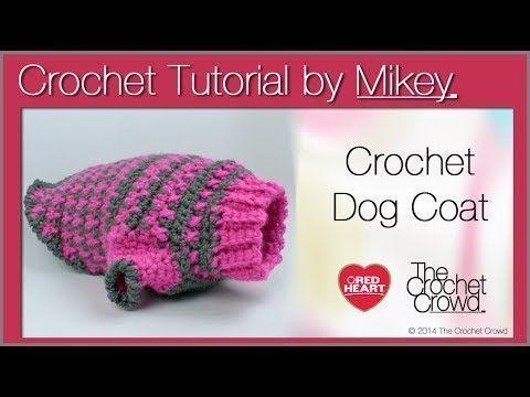 Crochet Simple Dog Sweater #dogcrochetedsweaters Crochet Simple Dog Sweater #dog…