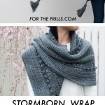 Crochet Stormborn Wrap - free crochet pattern - for the frills