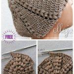 Crochet Sunburst Beret Hat Free Crochet Patterns - Crochet and Knitting Patterns