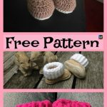 Crochet UGG style Booties - Free Patterns