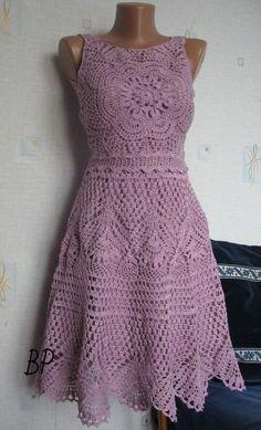 Crochet beautiful dress