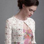 Crochet bolero PATTERN, detailed tutorial for every row, trendy crochet bolero pattern, bolero pattern