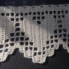 Crochet border, trim – hearts