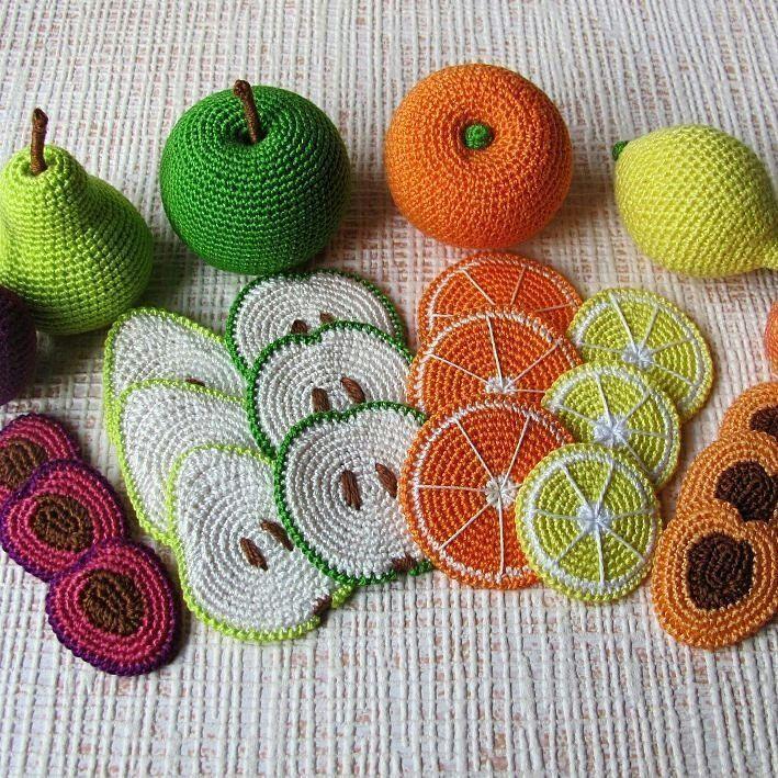 Crochet fruit – #Crochet #Fruit