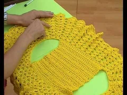 Crochet round bolero free pattern (video in Spanish). Here is the written englis… – Beliebteste Bilder