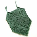 Crochet summer top – free pattern in three sizes – Grădina cu fluturi