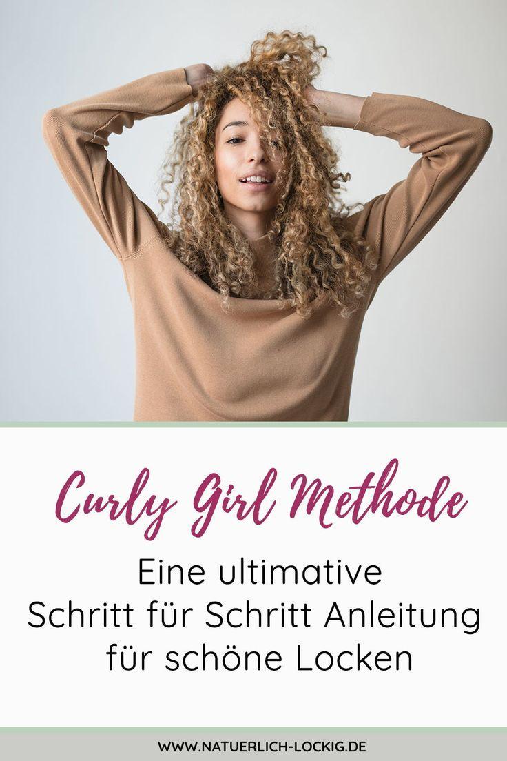 Curly Girl Methode – Endlich geschmeidige & glänzende Locken.
