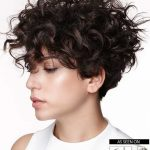 Curly Short Hairstyles for Cute Ladies