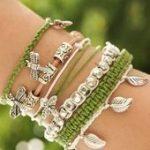 DIY Armbänder selber machen: flechten, aus Leder, mit Perlen - häkel - #Armbä...