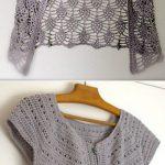 DIY Crochet Lace Jacket Pattern Ideas