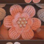DIY Fast And Easy Crochet Flower