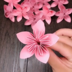 DIY Handmade 5 Piece Petal Pink