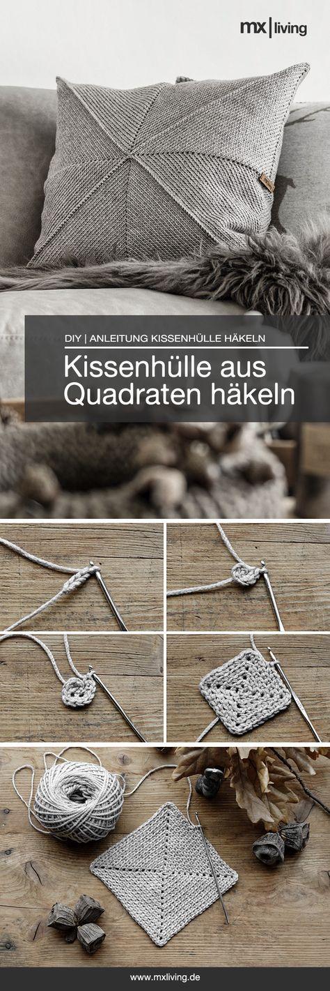 DIY | Kissenhülle häkeln – mxliving