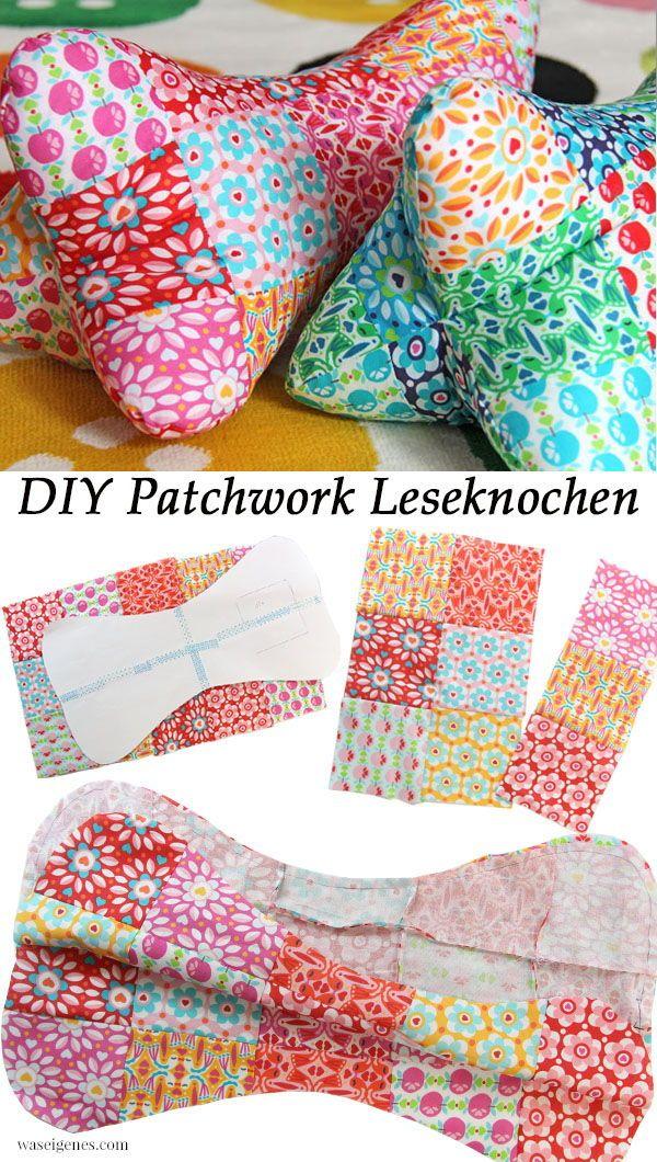 DIY Patchwork Leseknochen