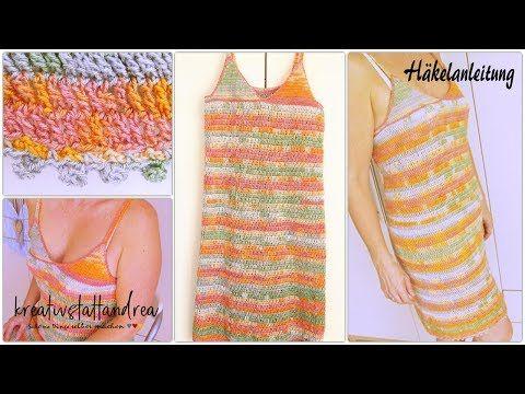 DIY – Sommerkleid Strandkleid häkeln | Häkelanleitung – YouTube