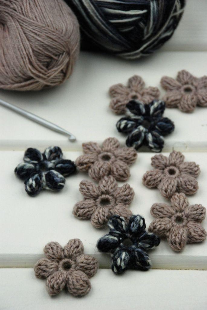 DIY – crochet flowers 3D-#crochet #flowers