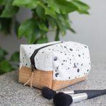 DIY eckige Kosmetiktasche selbernähen - Schritt für Schrittanleitung