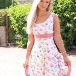 Damen Kleid Dressy