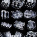 Details about Clear Acrylic Makeup Case Cosmetic Organizer Drawer Storage Jewelry Cabinet Box
