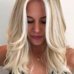 Details about European 100% Real Human Hair Wigs Blonde Wavy Lace Front Wigs Full Lace Wigs