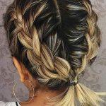 Die besten 20 Zöpfe für kurzes Haar - New Site