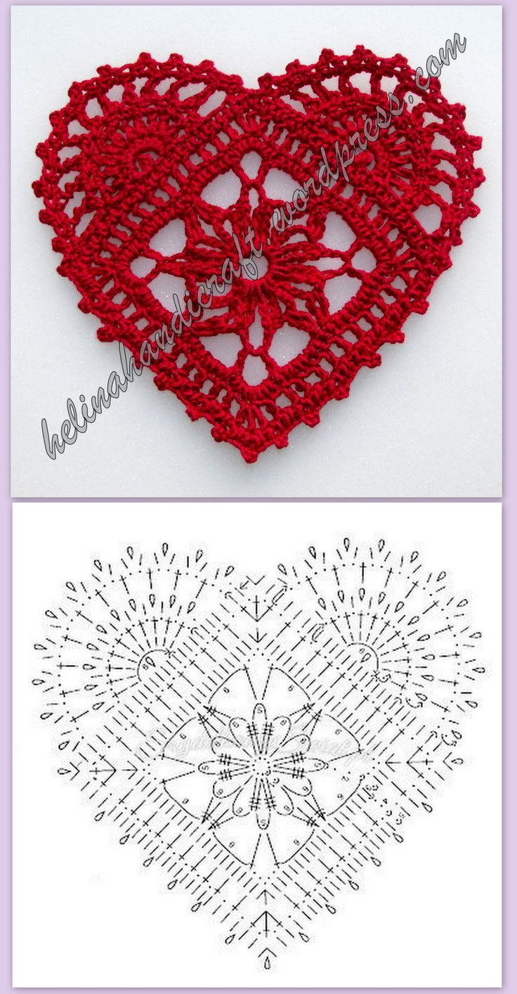 Different crocheted hearts! Part 3! (Featuring some heart-shaped earrings that I…