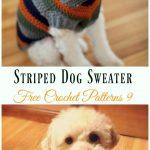 Dog Sweater Crochet Free Patterns DIY Instructions