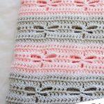Dragonfly Crochet Blanket [FREE]