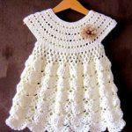 EMMA set,Children's crochet hat,Children's crochet dress,Crochet set,Han