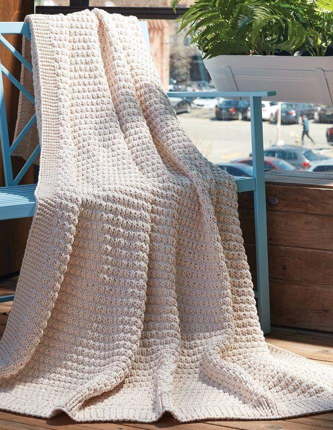 Easy Afghan Knitting Pattterns